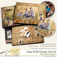 Your DVD Cover Vol.10 (Jasmin-Olya Designs)