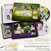 Your DVD Cover Vol.11 (Jasmin-Olya Designs)