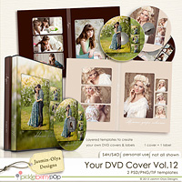 Your DVD Cover Vol.12 (Jasmin-Olya Designs)