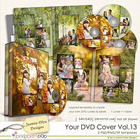 Your DVD Cover Vol.13 (Jasmin-Olya Designs)