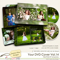 Your DVD Cover Vol.14 (Jasmin-Olya Designs)