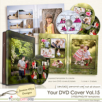 Your DVD Cover Vol.15 (Jasmin-Olya Designs)