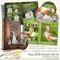 Your DVD Cover Vol.16 (Jasmin-Olya Designs)