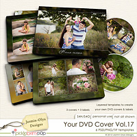 Your DVD Cover Vol.17 (Jasmin-Olya Designs)