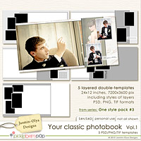 Your classic photobook Vol.1 (Jasmin-Olya Designs)