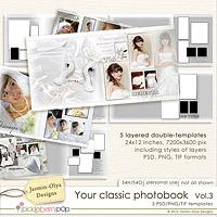 Your classic photobook Vol.3 (Jasmin-Olya Designs)