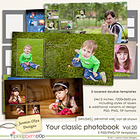 Your classic photobook Vol.20 (Jasmin-Olya Designs)