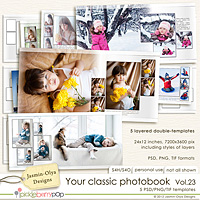 Your classic photobook Vol.23 (Jasmin-Olya Designs)