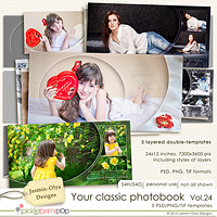 Your classic photobook Vol.24 (Jasmin-Olya Designs)