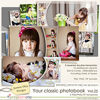 Your classic photobook Vol.25 (Jasmin-Olya Designs)