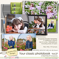 Your classic photobook Vol.27 (Jasmin-Olya Designs)