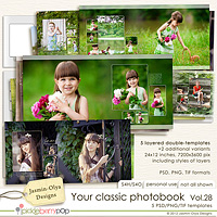 Your classic photobook Vol.28 (Jasmin-Olya Designs)
