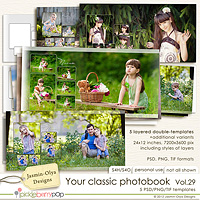 Your classic photobook Vol.29 (Jasmin-Olya Designs)