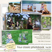 Your classic photobook Vol.30 (Jasmin-Olya Designs)