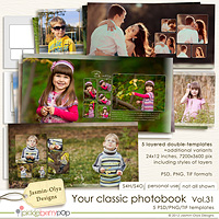Your classic photobook Vol.31 (Jasmin-Olya Designs)