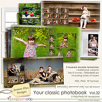 Your classic photobook Vol.32 (Jasmin-Olya Designs)