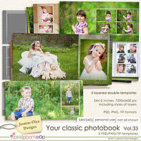 Your classic photobook Vol.33 (Jasmin-Olya Designs)