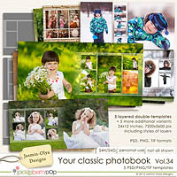 Your classic photobook Vol.34 (Jasmin-Olya Designs)