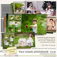 Your classic photobook Vol.35 (Jasmin-Olya Designs)