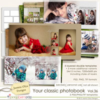 Your classic photobook Vol.36 (Jasmin-Olya Designs)