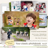 Your classic photobook Vol.37 (Jasmin-Olya Designs)