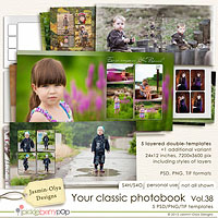 Your classic photobook Vol.38 (Jasmin-Olya Designs)