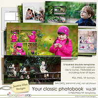 Your classic photobook Vol.39 (Jasmin-Olya Designs)