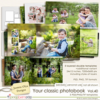 Your classic photobook Vol.40 (Jasmin-Olya Designs)
