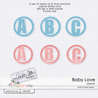 Baby Love Alpha (Boys & Girls)