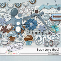 Baby Love (Boy) Element Pack