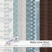 Baby Love (Boy) Paper Pack