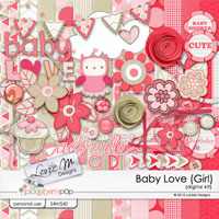 Baby Love Kit (Girl)