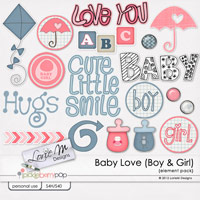 Baby Love Element Pack/Misc