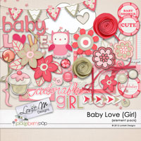 Baby Love (Girl) Element Pack