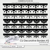 CU Decorative Borders #2
