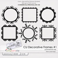 CU Decorative Frames #1