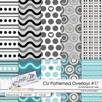 Patterned Overlays Collection 17 (CU)