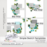 Simple Sketch Templates (CU/PU/S4H)