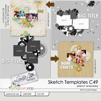Sketch Templates Collection 49 (CU/PU/S4H USE)