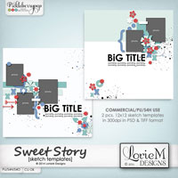 Sweet Story Sketch Templates