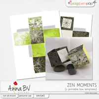 Zen Moments printable boxes