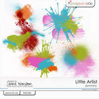 Little Artist Splatters