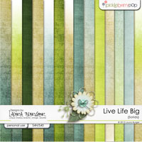 Live Life Big Solids and Gradients