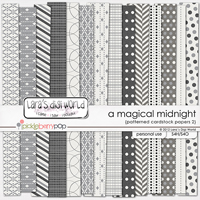 A Magical Midnight Patterned Papers 2