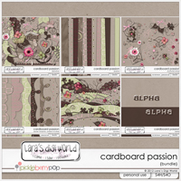 Cardboard Passion Bundle by Lara�s Digi World