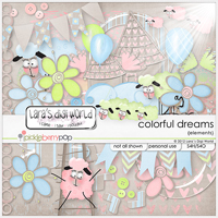 Colorful Dreams elements by Lara�s Digi World