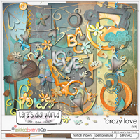 Crazy Love kit (FREE ALPHA with purchase) by Lara�s Digi World