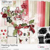 Feeling Festive Collection with Free Solid Papers