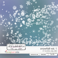 Snowfall Vol. 1 CU by Lara�s Digi World