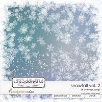 Snowfall Vol. 2 CU by Lara�s Digi World